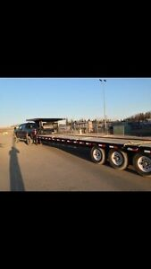 40'flatdeck trailer