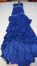 Brand New Blue Chiffon Party Dress (Size 8) North Brighton Holdfast Bay Preview