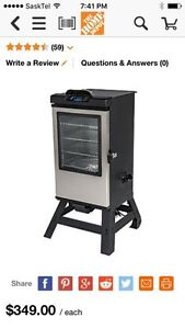 Masterbuilt Electric Bluetooth Smoker with Cold Smoke Attachment