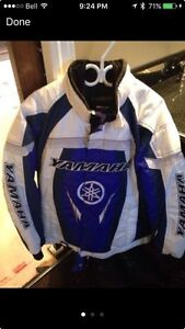 Women's Yamaha snowmobile suit large