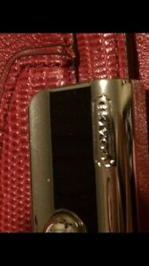 RED COACH CLUTCH FOR SALE London Ontario image 2