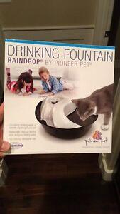 Pet water fountain
