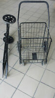COLLAPSIBLE SHOPPING/UTILITY CART