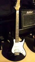 Ashton Electric Guitar + Ashton Amp + Acoustic Guitar + Case Hornsby Hornsby Area Preview