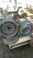 7 Ford Steel wheels