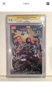 Agents of Shield #1 Signed by Cast, Producers and Creator.