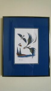 Signed Prints - Ernie Scoles (first Nations Artist)