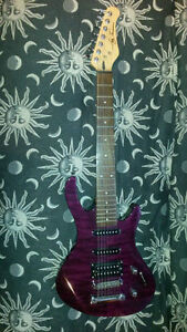 Guitare 7 cordes 7 strings guitar Jay Turser