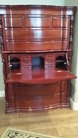 Solid rosewood armoire
