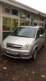 Vauxall meriva 1.6 very clean with two lovely sunroofs