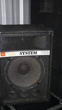 """EX HIRE JANDS SYSTEM 700 15"""" 2 WAY SPEAKERS Rydalmere Parramatta Area Preview"""