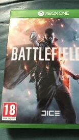 Battlefield 1 Xbox one used once!!