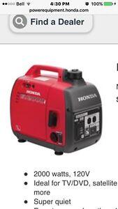 I want a honda generator EU2000i for 600.00