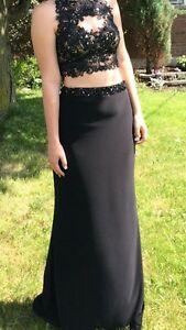 Prom dress and shoes