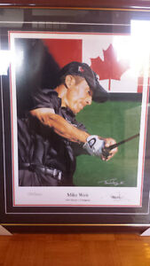 Mike Weir 2003 Master Champion Painting