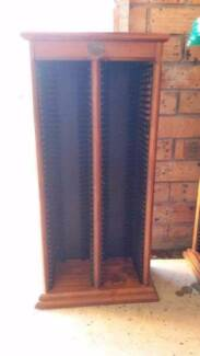 Wooden CD rack Newcastle 2300 Newcastle Area Preview