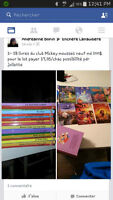 collection livres walt disney
