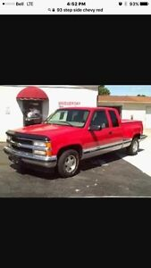 93 Chevrolet Silverado step side