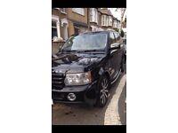 Range Rover sport 2.7TDV6 Auto Black