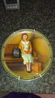 "Norman Rockwell ""Young Girl's Dream"" plate"