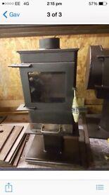 Wood burning stove log burner wood burner