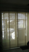 Blinds for patio and window