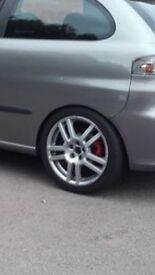 Seat Ibiza cupra r alloy wheels
