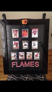 Signed Calgary Flames cards!