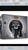 Plusieurs machine à café keuring neuf