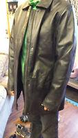 Womens Leather Jacket Medium