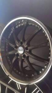 20x8.5 Versus Kahn Vendetta Satin BMW Commodore wheels Old Toongabbie Parramatta Area Preview