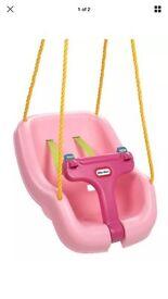 Pink little tikes swing seat