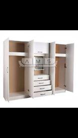 White wardrobe 3 pieces