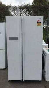3.5 star 640 liter sumsung side by side door fridge