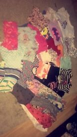 Large bundle of girls clothes to fit 5-6