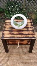 Distressed Timber Coffee Side Bedside Table W Drawer Coogee Eastern Suburbs Preview