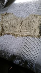 Ladies crochet tassel crop top   Will fit size 8 10 Berkeley Vale Wyong Area Preview