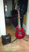 Child's Size Jay Turser Electric Guitar and Amp