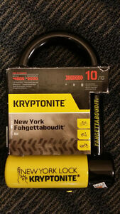 kryptonite u lock buy sell items tickets or tech in toronto gta kijiji classifieds. Black Bedroom Furniture Sets. Home Design Ideas