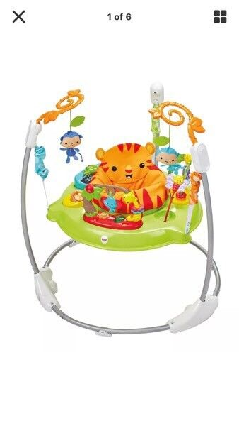 Fisher price roaring jumperoo ideal for xmas