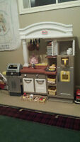 Little Tykes Kitchen for Sale with Food