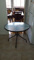 terrasse glass table MOVING SALE