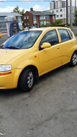 2004 CHEVY AVEO  HATCHBACK .E TESTED