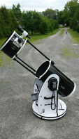 "12"" Dobsonian Telescope, AUTO FIND & TRACKING, with eyepieces"