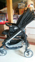 Stroller/Pousette Peg Perego Switch Four, Pois Black