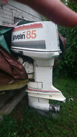 1977 Javelin outboard 85hp