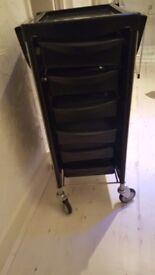 Black Salon Trolley