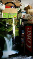 2 ''C '' SERIES SNACK MACHINES FOR SALE  AND POP MACHINES.