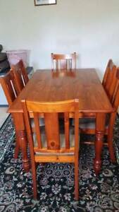 Dining table with 6 chairs Meadowbrook Logan Area Preview