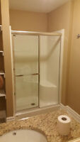 MAXX SHOWER STALL INSTALLED BY NEVER USED   BEST OFFER